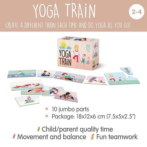 Toddler Yoga Game - Yoga Train