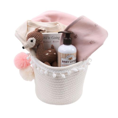 Pink Woodland Gift Basket - Explore