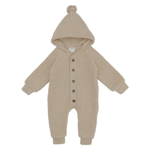 Sherpa Baby Suit with Organic Lining - 3-6m