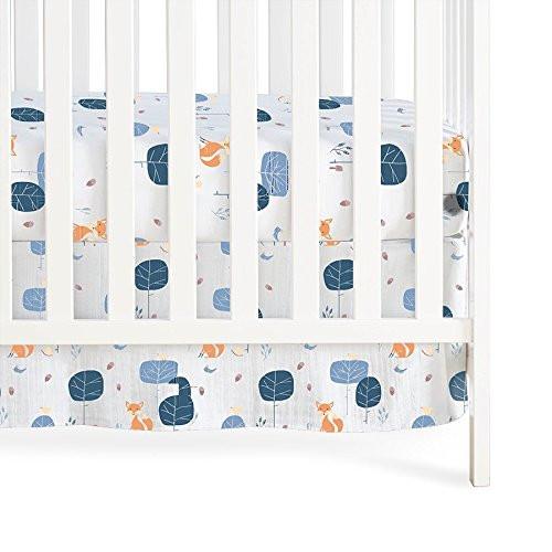 Aden & Anais Organic Crib Skirt - Into the Woods