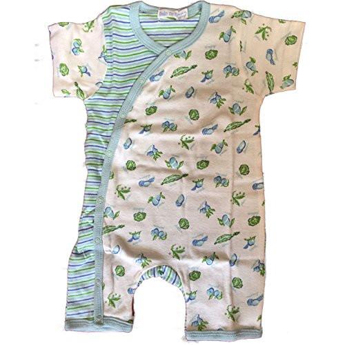 Under the Nile Organic Baby Clothes - Veggie Romper - 6-9m