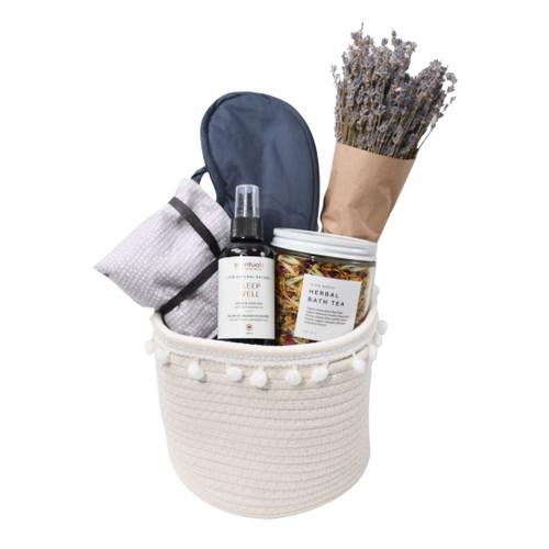 Uplifting Gift Basket for Her - Rest Easy