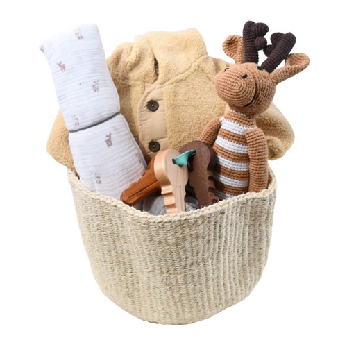 New Baby Gift Basket - Falling for You