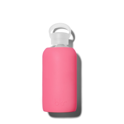 bkr Glass Water Bottle - Hot Pink 500ml