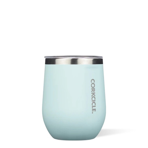Portable Wine or Cocktail Glass - Powder Blue