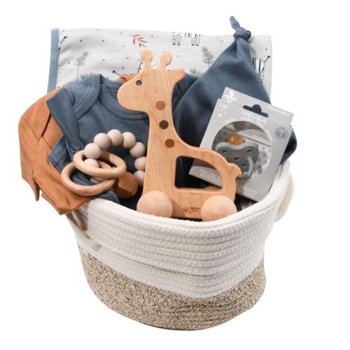 Organic Baby Gift Basket - Safari Soiree
