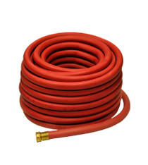 """Red 100% Rubber 5/8"""" x 50' Hose"""