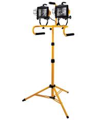Quartz Lighting Dual 500W Halogen lights w/stand