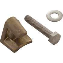 Wedge, Brass w/Bolt F/D Anchor