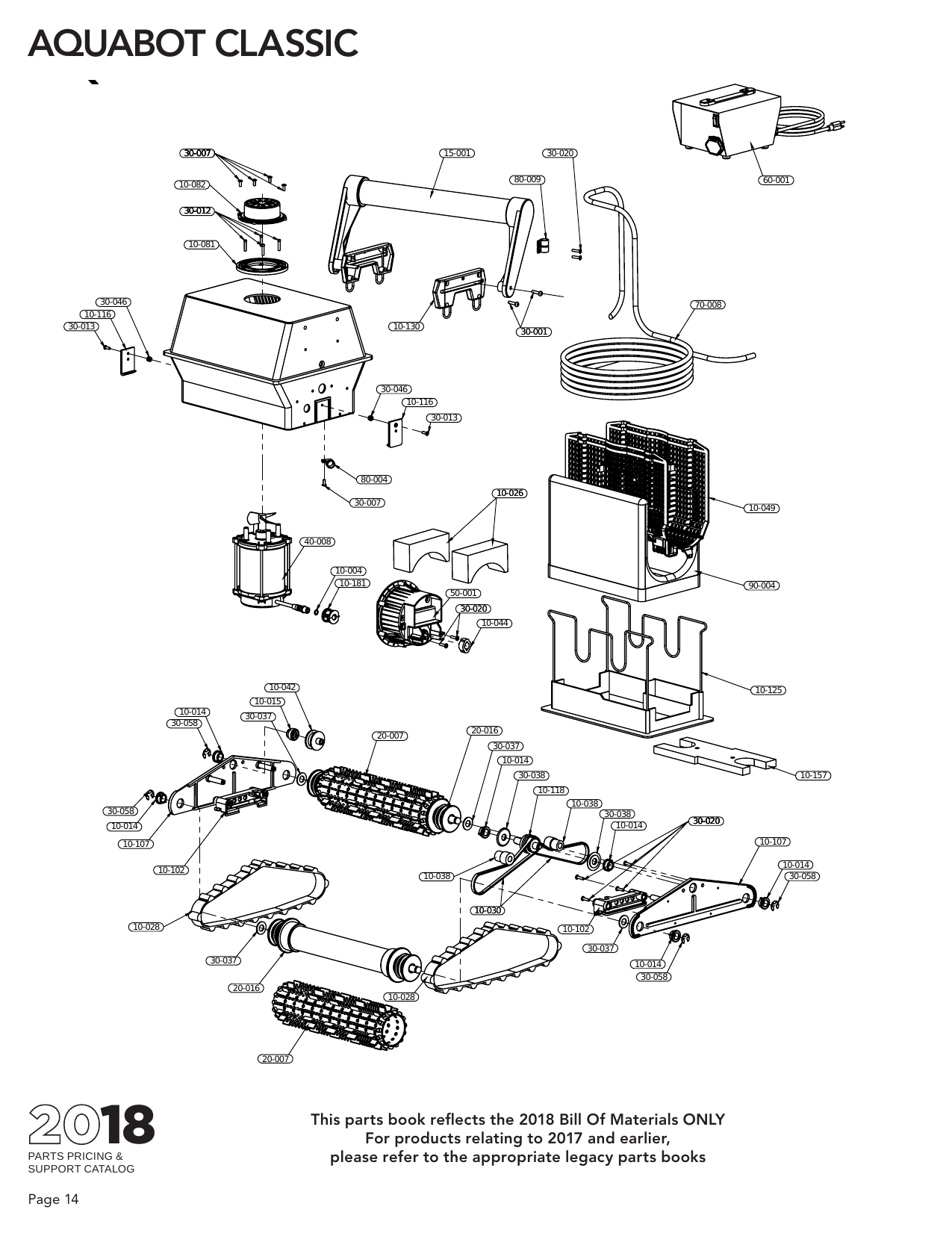 Pool and Spa Parts - Automatic Pool Cleaner Parts - Aquabot ... Ramco Mirror Switch Wiring Diagram Single on