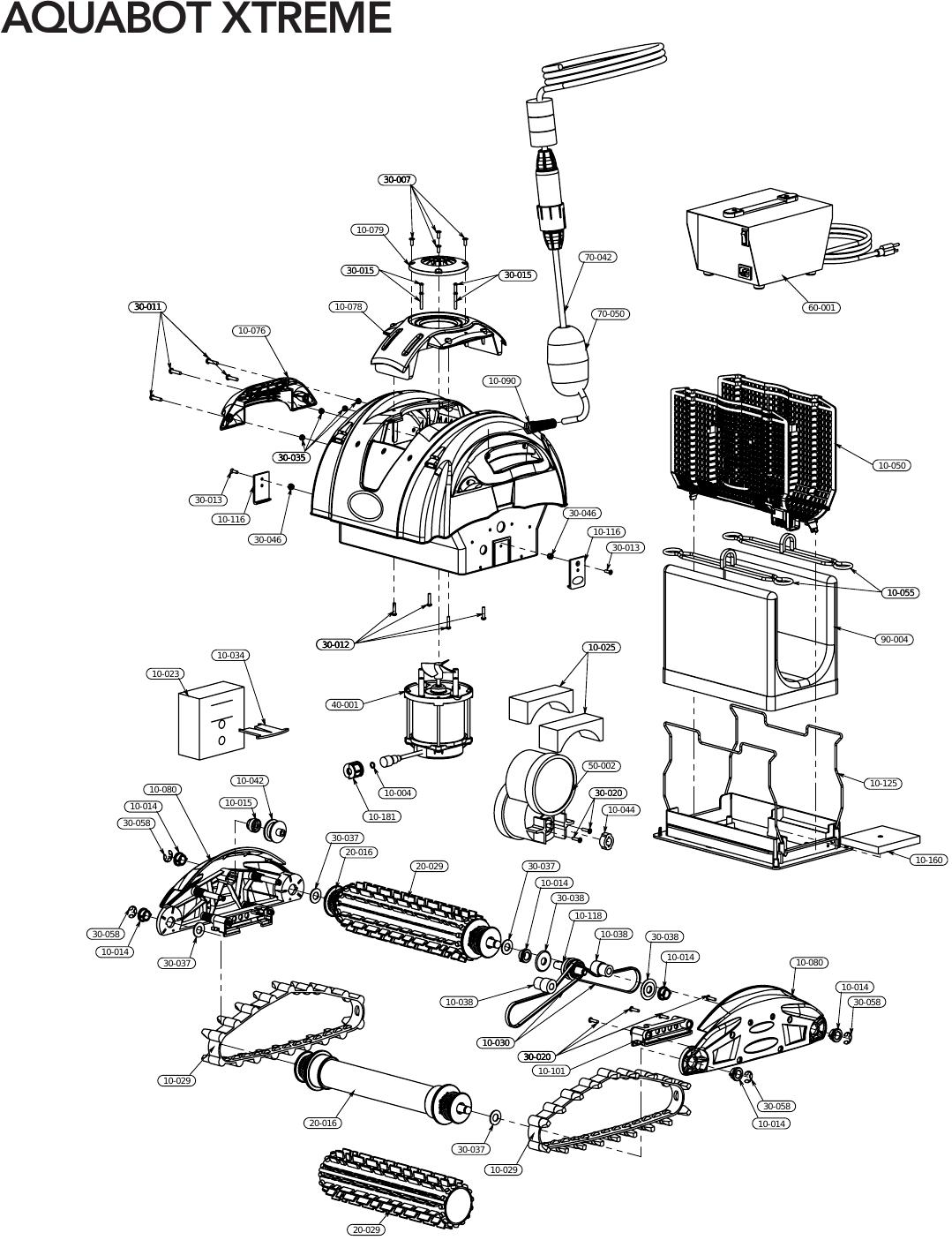 Parts Serial Diagram Aquabot 100ibftt77515 Manual Guide Wiring Eagle And Electrical Schematic U2022 Rh Whenintransit Com