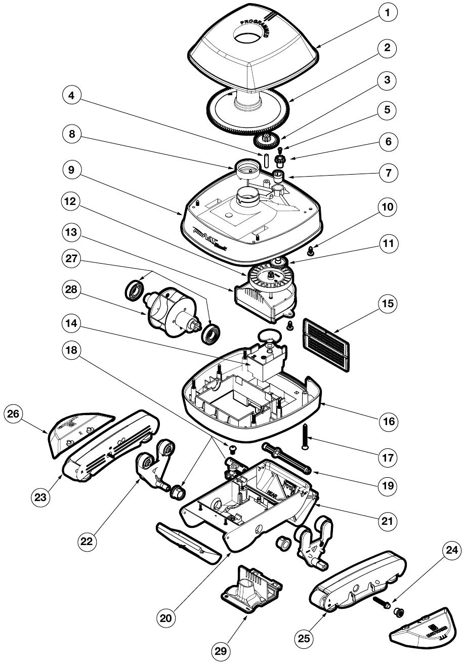 Hammerhead Wiring Diagram Pool Cleaner on