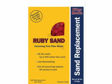 100 Plt 20 Ruby Sand Filter Media