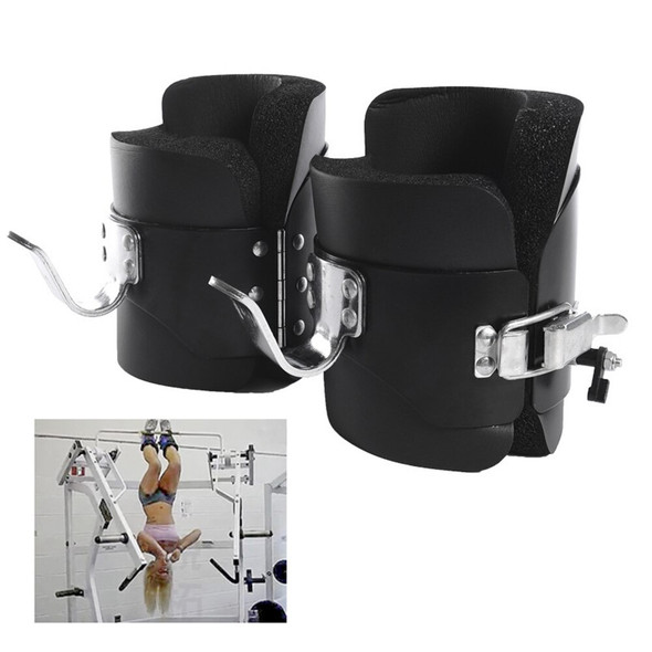 1 Pair Anti Gravity Inversion Boots Therapy Spine Ab Chin Up Gym Hook Hanging Pull Up Bodybuilding Fitness Handstand Shoes