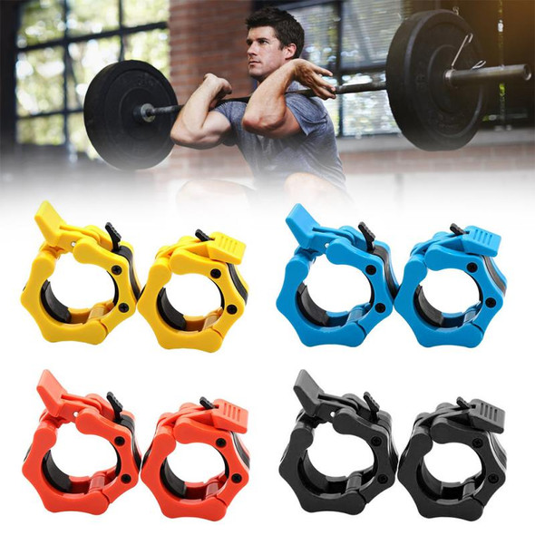 "1 Pair Olympic 2"" Barbell Collar Lock Dumbell Clips Clamp Weight lifting Bar Gym Dumbbell Fitness Body Building Training"