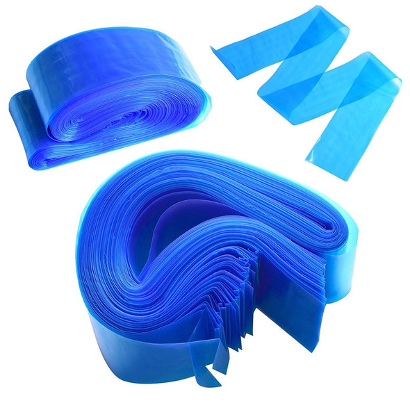 100/200 Pcs Tattoo Clip Cord Sleeves Bags Safety Tattoo Machine Cover Bags Disposable Tattoo Accessory Permanent Makeup Blue