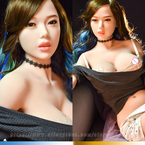 145cm Real Silicone Sex Dolls Oral Anus Anime Sexy Love Japanese Realistic Vagina Huge Breasts Doll Adult Sex Toys for Men