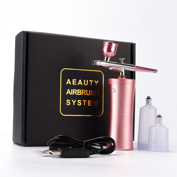 0.4mm Nozzle Single Action Airbrush with Compressor Kit Air-Brush Paint Spray Gun for Cake Tattoos Nail Tools Set Spray Tools