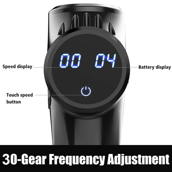 1PC HOT SALE Electric Muscle Relaxation Massager Hand-held  Massage Gun Fitness Equipment LCD Digital Display Health Dropship