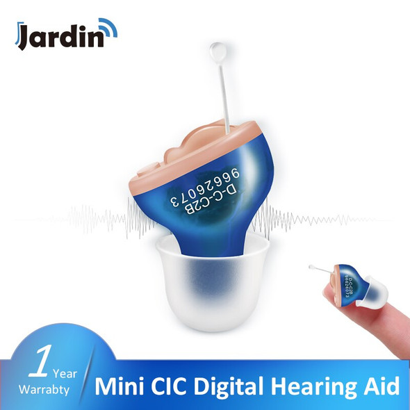 CIC Best Hearing Aids MINI Inner Ear Invisible Adjustable Tone Sound Amplifier Hearing Amplifier For the Elderly Dropshipping