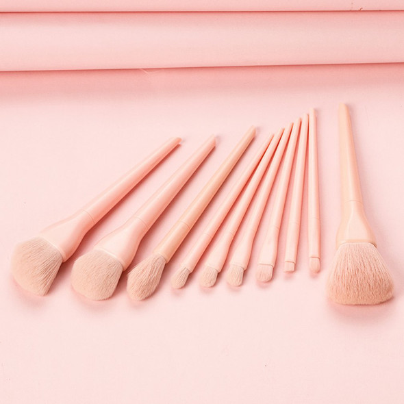 10pcs Luxury Makeup Brushes Sets For Foundation Powder Blush Eyeshadow Concealer Lip Eye Makeup Brush Cosmetics Beauty Tool
