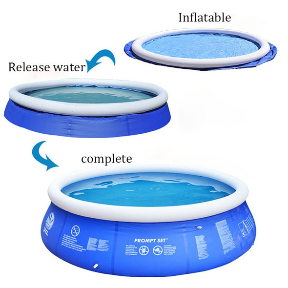 180x73cm Summer Swimming Pool Clip Net Thick Super Pad Pool Home Inflatable Bathtub Kids Bath Tub Outdoor Family Water Party