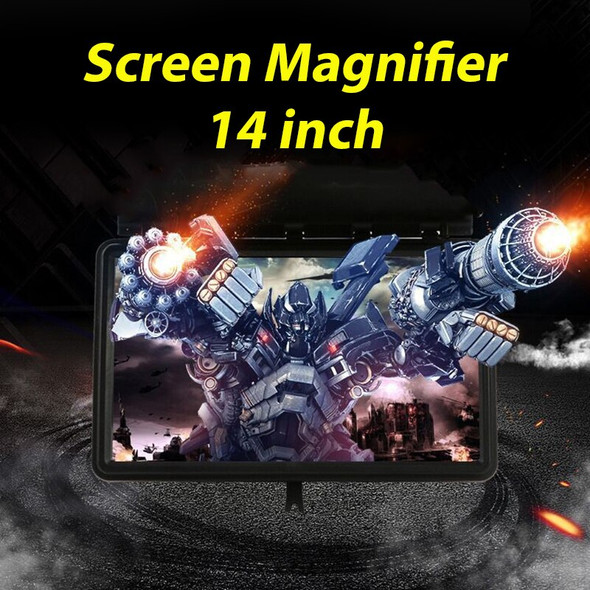 14 inch 3D Video Enlarge Smartphone Screen Magnifier Clear Amplifier Universal high qualiy Mobile Phone Holder