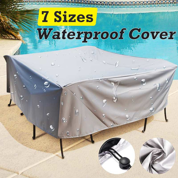 Outdoor Furniture Cover Waterproof Garden Patio Table Chiar Covers Wicker Sofa Set Protection Rain Snow Dust Proof Cover