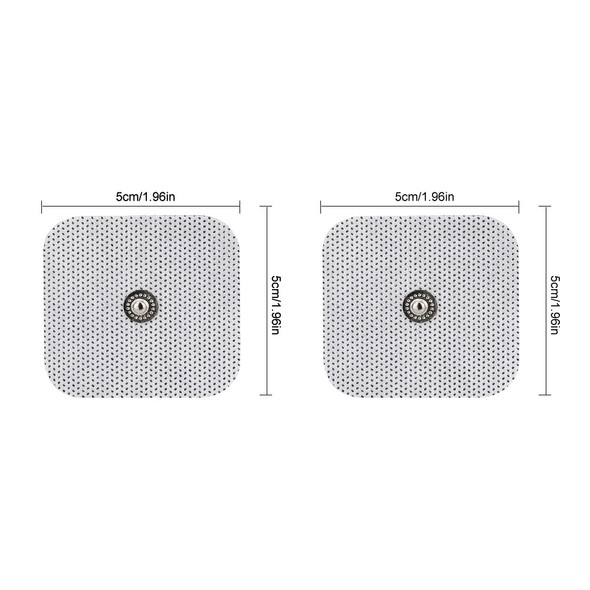 Self Adhesive Replacement Electrode Pads Tens Electrodes for Tens Digital Therapy Machine Massager non-woven Tens Electrode Pads