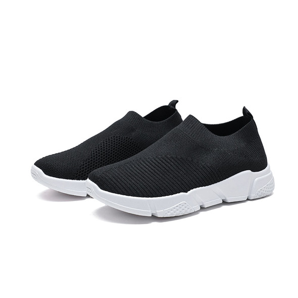 Women Flats Fashion Walking Shoes Outdoor Lightweight Casual Sneakers Breathable 101