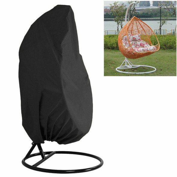 1Pcs Outdoor Swing Hanging Chair Eggshell Dust Cover Garden Weave Hanging Egg Chair Seat Cover Anti-UV Waterproof For Home