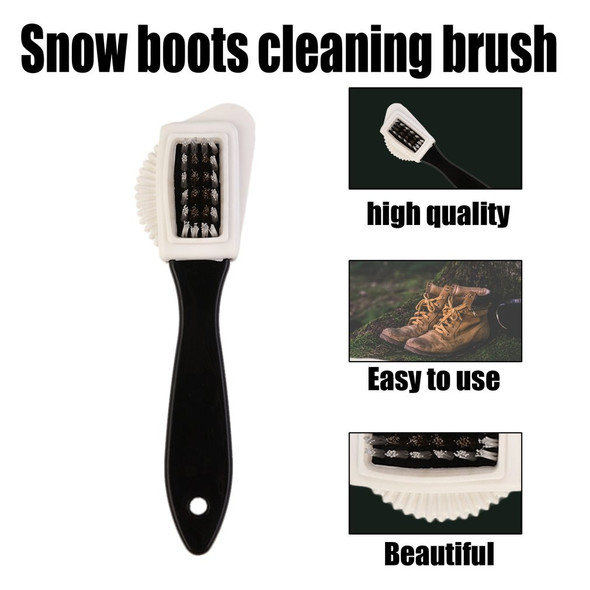 Durable Multifunctional Scrub Fur Shoes Cleaning Brush Portable Size Snow Boots Suede Shoe Cleaner Cleaning Brush