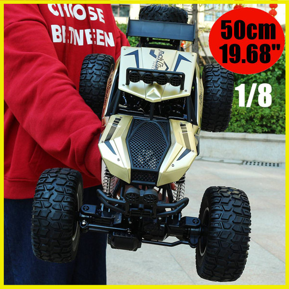 1:8 50cm RC Car 2.4G Radio Control 4WD Off-road Electric Vehicle Monster Buggy Remote Control Car Gift Toys For Children Boys