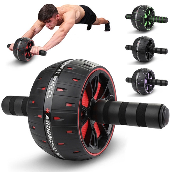 Abs Roller big Wheel Abdominal Muscle Trainer For Fitness No Noise Ab Roller Wheel Workout Abs Training Home Fitness Equipment