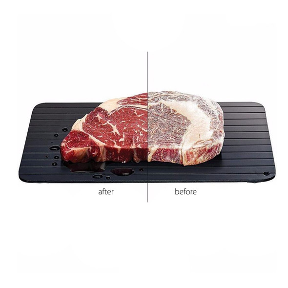 Fast Defrosting Meat Tray Chopping Board Rapid Safety Quick Thawing Tray Plate For Frozens Food Meat Kitchen Tool