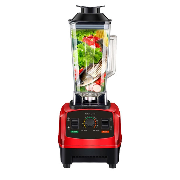 2200W High Speed Blender Mixer with 8 Blade Fruit Juicer Food Processor Ice Crusher Smoothie Machine 2.0L