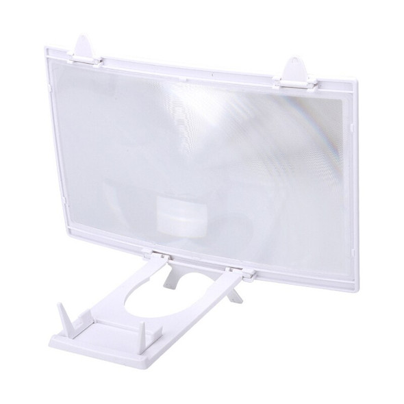 ABS Folding Mobile Phone Video Screen Amplifier 12 3D HD Magnifier Stand Bracket Universal Mobile Phone Holder