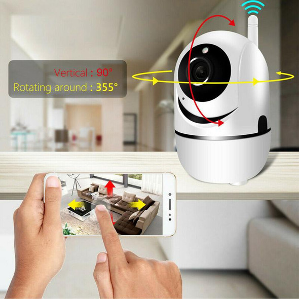 1080P IP Camera WiFi Home Security Camera IP 360 Night Vision Baby Monitor Indoor Mini Surveillance CCTV Wireless Wifi Home Came