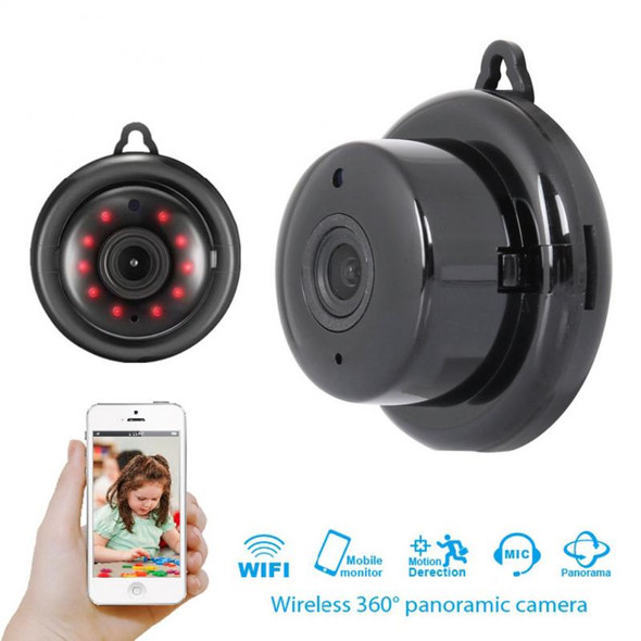 1080P Wireless Mini DVR Camera Wifi IP Home Security Camcorder Night Vision Ceiling Type IP-Camera