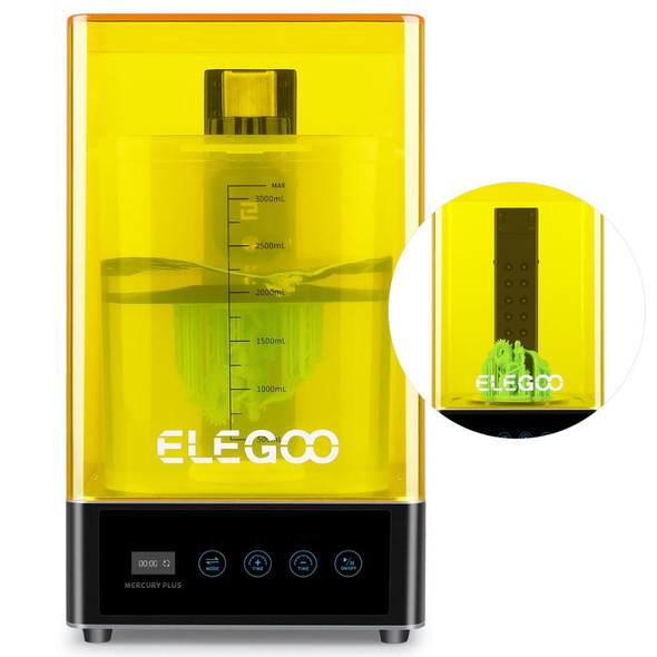 ELEGOO 3D Printer Wash And Cure Machine for Curing Models 2-in-1 Washing and Curing with Sealed Washing Container