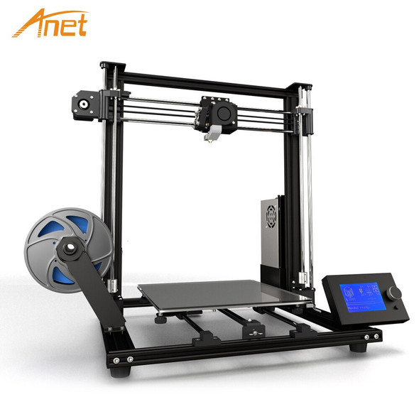 Anet A8 Plus High-precision Aluminum Alloy Upgraded DIY 3D Printer Self-assembly Moveable LCD Control Panel