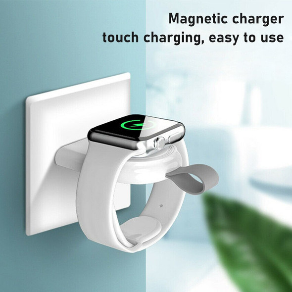 USB Portable Magnetic Wireless Charger For iPhone Watch iWatch Series 5/4/3/2/1