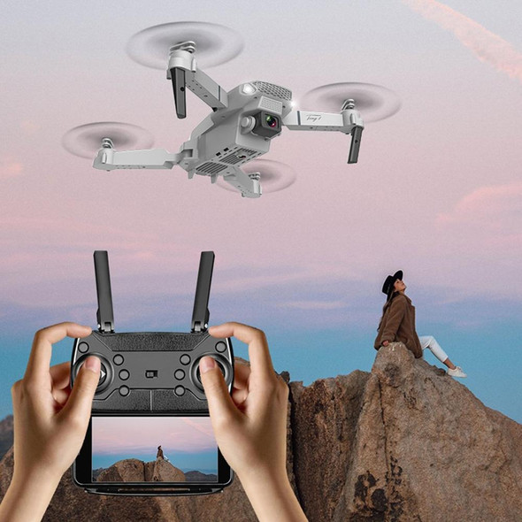 E88 WIFI FPV Drone With Wide Angle HD 4K Switchable Dual Camera Height Hold Mode RC Foldable Quadcopter Drone Gift