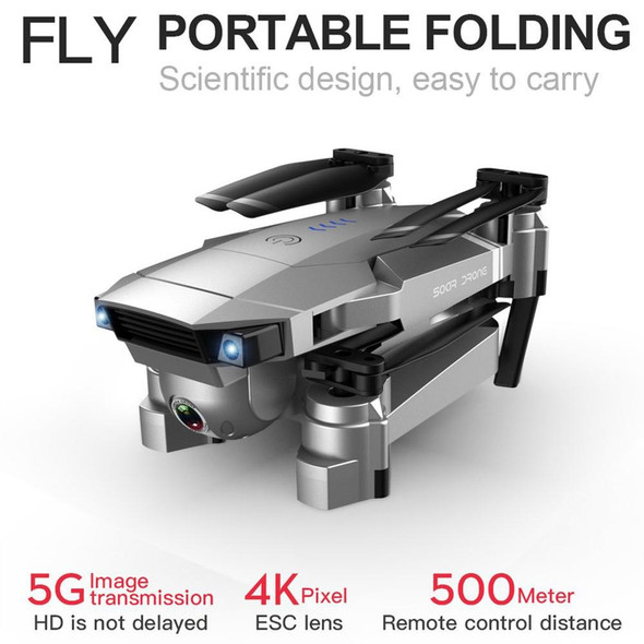 SG901 Foldable Drone 4K HD Dual Camera Follow Me RC Drone FPV Professional Long Battery Life Aircraft Toy For Kid