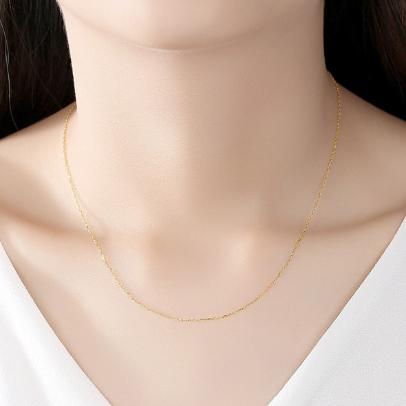 14K Gold Clavicle Chain Fashion All-match Ladies Necklace