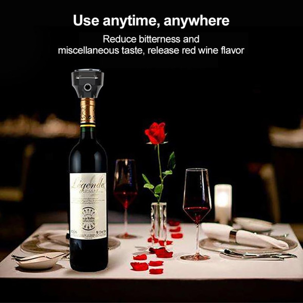 1PC Portable Electric Wine Pourer Automatic Beer Foamer Electric Decanter Dispenser Kitchen Bar Accessories