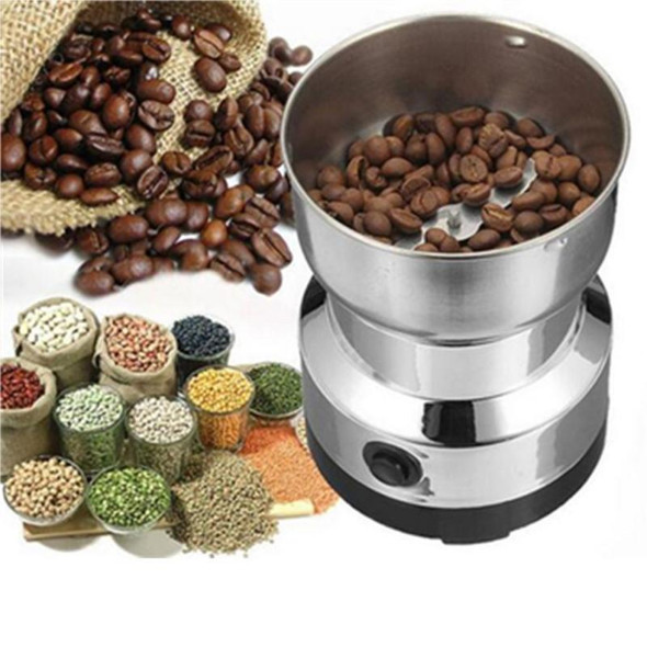 Grains Spices Coffee Beans Grinder Grinding Machine Flour Powder Crusher Hebals Cereals Dry Food Mill Gristmill Kitchen Medicine