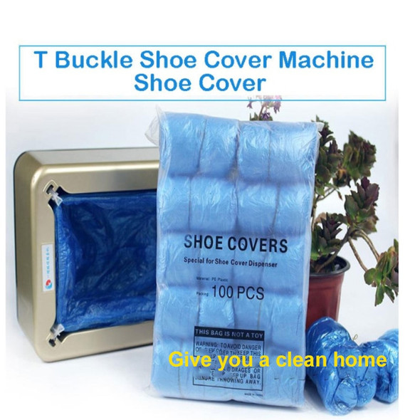 100PCS Disposable Boot Safety Shoe Cover Rainy Season Waterproof Boot Covers Home Boot Covers Anti Slip Shoes Cover Curtain