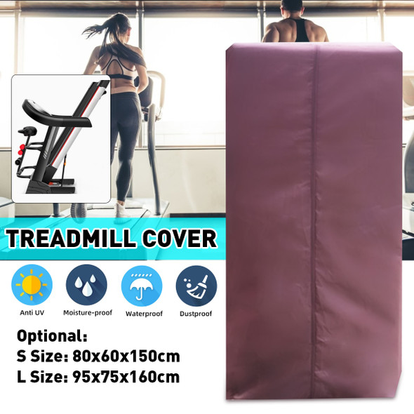 2 Size Indoor Waterproof Treadmill Cover Running Jogging Machine Dust Proof Shelter Protection Treadmill Dust Covers Shelter