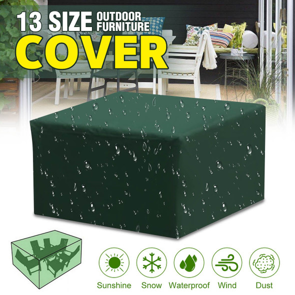 13Sizes Waterproof Outdoor Garden Furniture Covers Rain Snow Chair covers for Patio Sofa Table Chair Dust Proof Cover